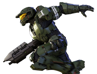 Halo Legends Spartan 117 Right Png PNG images
