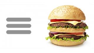 Burger, Cheeseburger, Double, Fast Food, Hamburger, Junk Food Icon PNG images