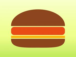 Hamburger Icon | Food Iconset | Iconshock PNG images