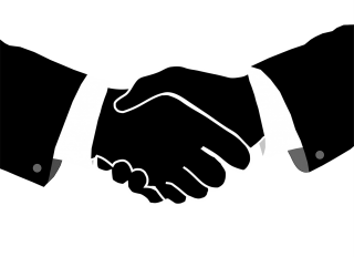 Icon Handshake Svg PNG images