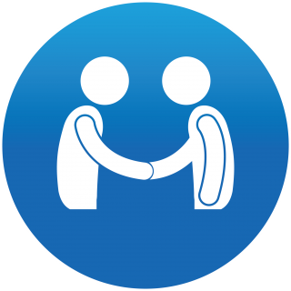 People Handshake Icon Meeting People Icon PNG images