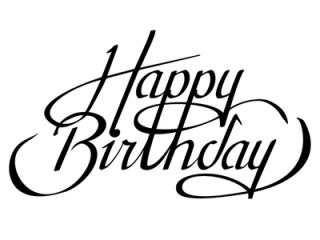 Happy Birthday PNG, Happy Birthday Transparent Background - FreeIconsPNG
