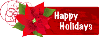 PNG Happy Holidays Photo PNG images