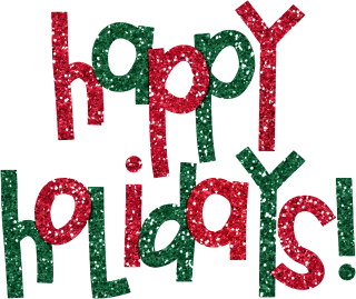 High Resolution Happy Holidays Png Icon PNG images