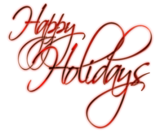 Background Happy Holidays PNG images