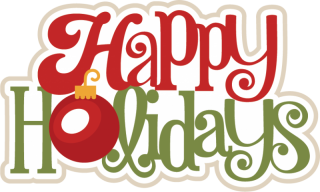 Happy Holidays PNG HD PNG images