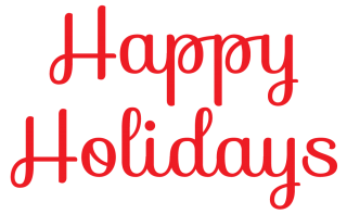 Download For Free Happy Holidays Png In High Resolution PNG images