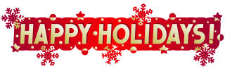 High Resolution Happy Holidays Png Clipart PNG images
