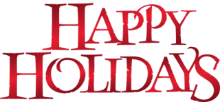 Happy Holidays Transparent Png PNG images