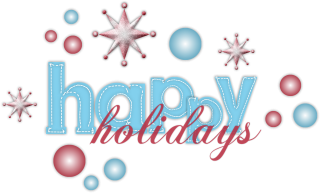 Happy Holidays Png PNG images