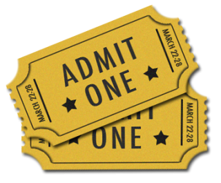 Ticket Admit One PNG Transparent Image PNG images