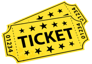 Ticket Background Hd With Stars Design PNG images