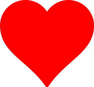 Valentine Red Heart Png PNG images