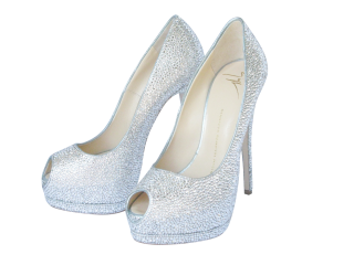 White Heels Wedding Png PNG images