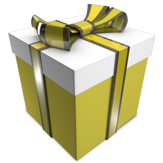 Green Gift Box, Holiday Icon Png PNG images