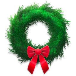 Holiday Wreath Icon PNG images