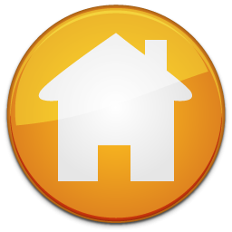 Homepage Orange Icon Inicio PNG images