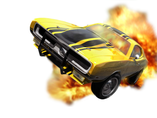 Hot Car Camilla In Fire Png Clipart PNG images