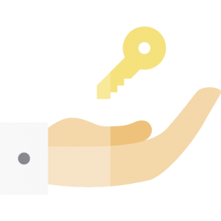 Hand, House Key PNG images