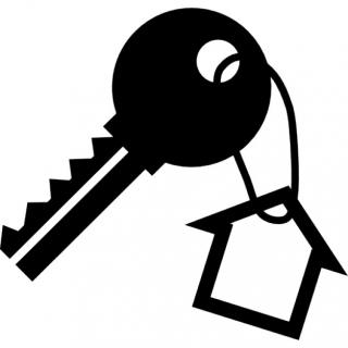 Home With Key Icon PNG images
