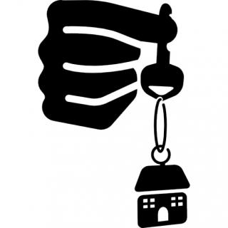 House Keys In Hand Icon PNG images