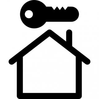 Key On House Icons PNG images