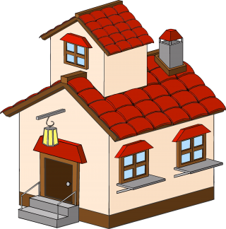 Cartoon Haunted House ClipArt Picture PNG images