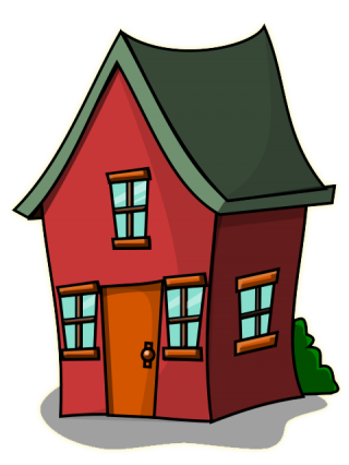 House Halloween Clipart PNG images