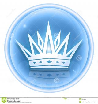 Stock Photo: Crown Icon Ice. Image: 8615200 PNG images