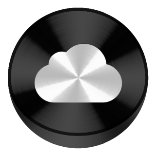 Icon Icloud Library PNG images