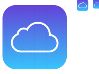 Icloud Icon App Apple Template Sketch Clipart Ios Resource Resources Logos Help Sketchappsources Source PNG Picture PNG images