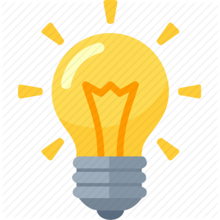 Ideas Light Bulb Icon PNG images