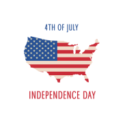 Independence Day 4th July Transparent PNG images