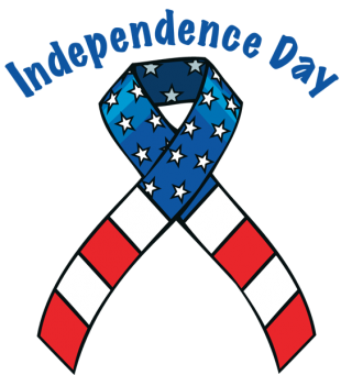 Independence Day Ribbon Png PNG images