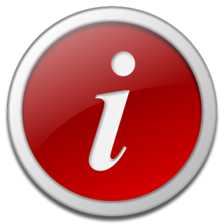 Clear Information Icon #070831 » Icons Etc PNG images
