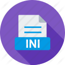INI File Windows Icon PNG images