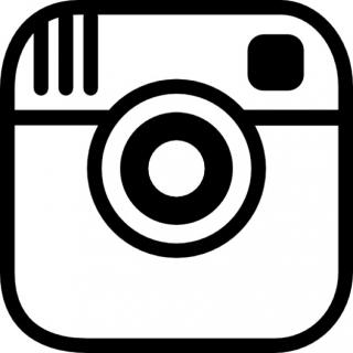 Instagram Photo Camera Logo Outline Icons | Free Download PNG images