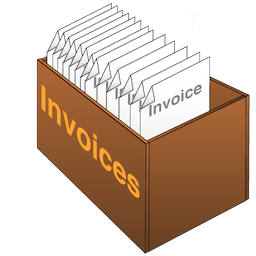 Free Invoices Vector PNG images