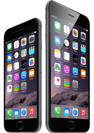 Black Iphone 6 Png PNG images