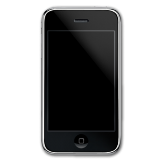 Black Simple Iphone Icon PNG images