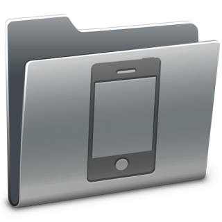 Folder Iphone Icon PNG images