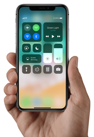 IPhone X In Hands Png PNG images