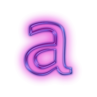 Vector Icon Letter A PNG images