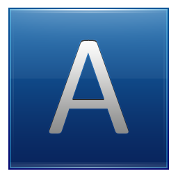 Letter A Symbol Icon PNG images