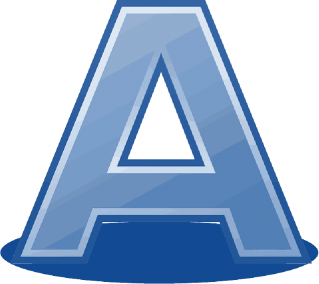 Letter A Save Icon Format PNG images