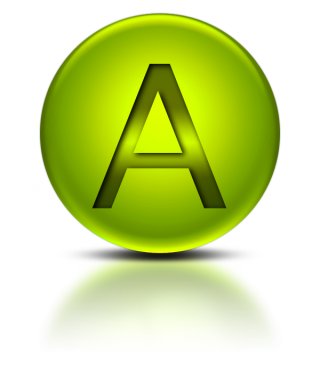 Free High-quality Letter A Icon PNG images