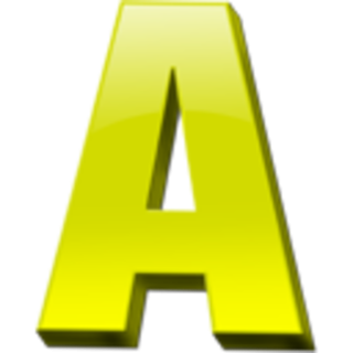Vector Letter A Free PNG images