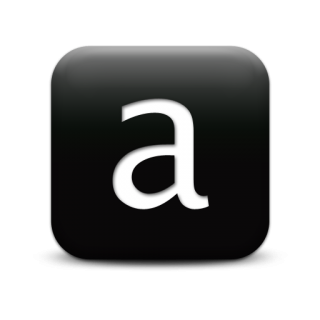 Transparent Icon Letter A PNG images