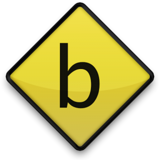 Vector Letter B Icon PNG images