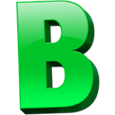 Letter B .ico PNG images